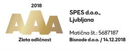 Spes AAA certifikat